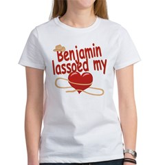 Benjamin Lassoed My Heart Tee