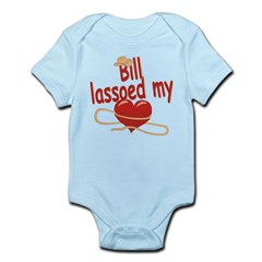 Bill Lassoed My Heart Infant Bodysuit