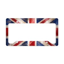 Cute English License Plate Holder