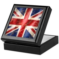 Cute Union jack Keepsake Box