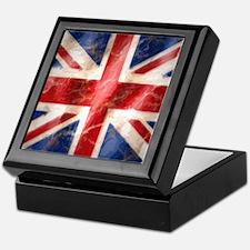Cute British union jack Keepsake Box