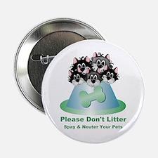 """Neuter Litter Cats 2.25"""" Button"""