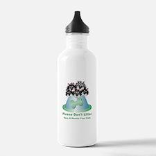 Neuter Litter Cats Water Bottle