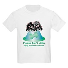 Neuter Litter Cats T-Shirt