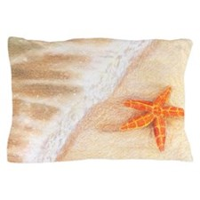 Starfish Vacation Pillow Case