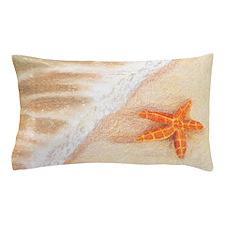 Starfish Vacation Pillow Case