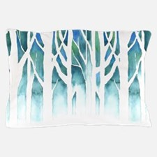 Winter Silhouette Pillow Case
