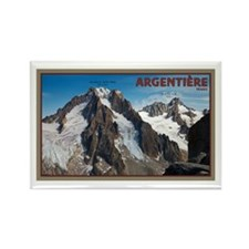 Argentiere Rectangle Magnet