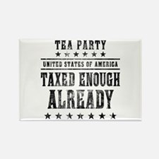 Taxed Enough Already Rectangle Magnet (10 pack)