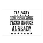Taxed Enough Already Postcards (Package of 8)