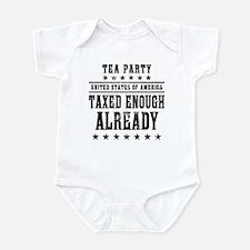 Taxed Enough Already Infant Bodysuit