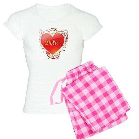 Delia Valentines Women's Light Pajamas