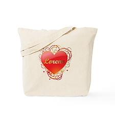 Lorene Valentines Tote Bag