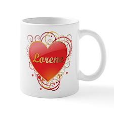 Lorene Valentines Small Mugs