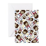 Cute Jesus Christ Greeting Cards (Pk of 10)