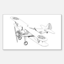 Stearman PT-17 Bi-Plane Decal