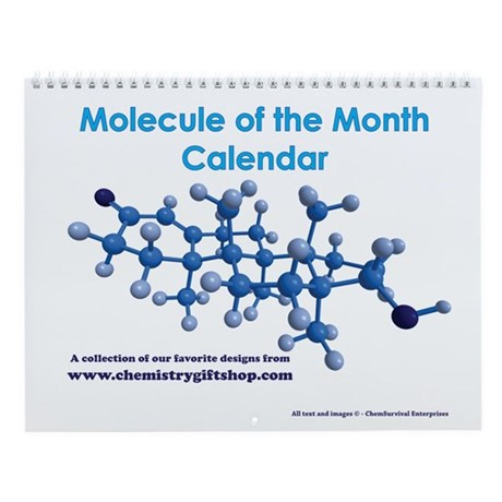 Molecule of the Month Wall Calendar