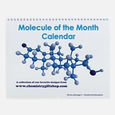 Molecule of the Month Wall Calendar
