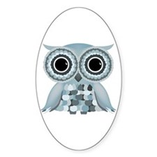 Little Blue Owl Decal