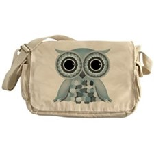 Little Blue Owl Messenger Bag