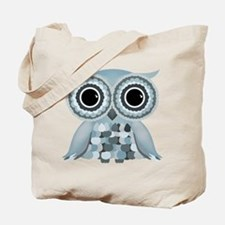 Little Blue Owl Tote Bag