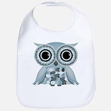 Little Blue Owl Bib