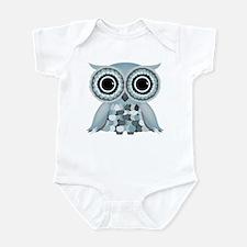 Little Blue Owl Infant Bodysuit