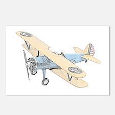 Stearman PT-17 Bi-Plane Postcards (Package of 8)