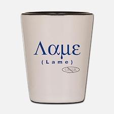 Lame Shot Glass
