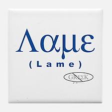 Lame Tile Coaster