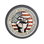 Preserve Our Constitution Wall Clock
