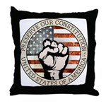 Preserve Our Constitution Throw Pillow