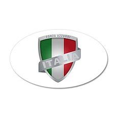 italian pride 22x14 Oval Wall Peel