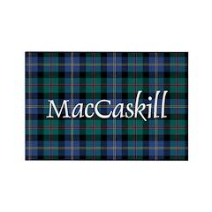 Tartan - MacCaskill Rectangle Magnet (10 pack)