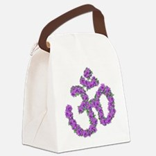 Passion Flower OM Canvas Lunch Bag