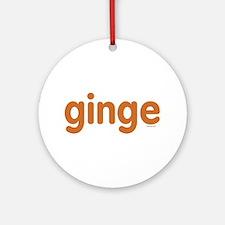 Ginge Ornament (Round)