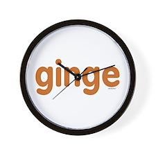 Ginge Wall Clock