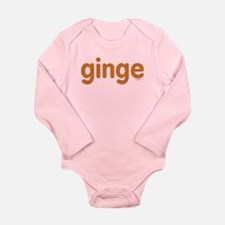 Ginge Long Sleeve Infant Bodysuit