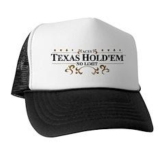 Aces Texas Hold'em No Limit Trucker Hat