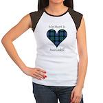 Heart - MacCaskill Women's Cap Sleeve T-Shirt
