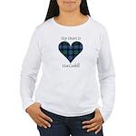 Heart - MacCaskill Women's Long Sleeve T-Shirt