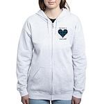 Heart - MacCaskill Women's Zip Hoodie