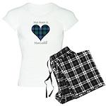 Heart - MacCaskill Women's Light Pajamas