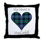Heart - MacCaskill Throw Pillow
