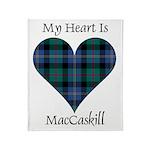 Heart - MacCaskill Throw Blanket
