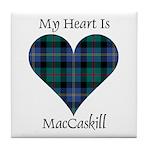 Heart - MacCaskill Tile Coaster