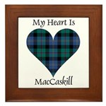 Heart - MacCaskill Framed Tile