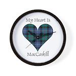 Heart - MacCaskill Wall Clock