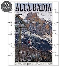 Alta Badia Gondola Puzzle