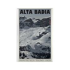 Alta Badia Run 20 Rectangle Magnet (10 pack)